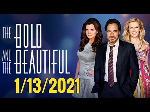 CBS The Bold and the Beautiful Full Episode 1/13/20 -  B&B Wednesday January 13, 2021