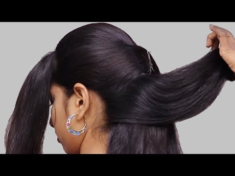 Unique party hairstyles for Long Hair  latest hairstyle 2018 for girls  hair style girl