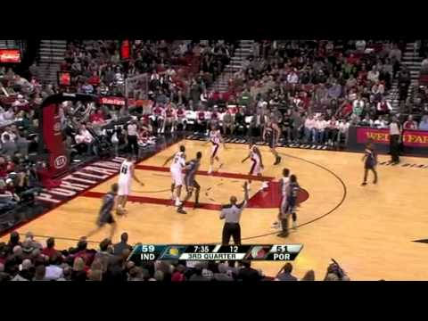 Indiana Pacers 92 – Portland Trail Blazers 97