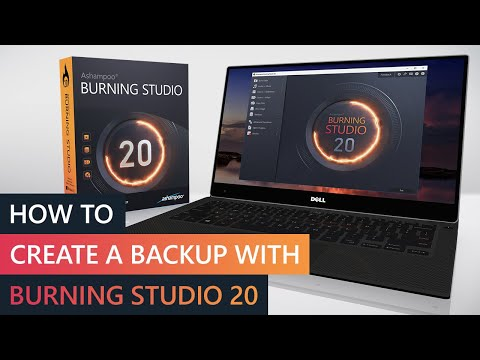 Ashampoo Video Howto: How to create a backup with Ashampoo Burning Studio 20