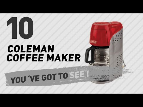 Coleman Coffee Maker & Accessories // The Most Popular 2017