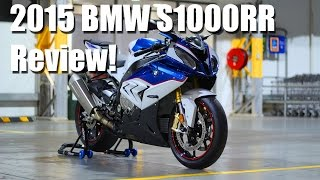 10. 2015 BMW S1000RR REVIEW!