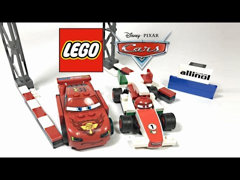 LEGO Cars 2 World Grand Prix Racing Rivalry review! 2011 set 8423!