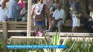 Em seis meses, cresce em 65% o número de moradores de rua em Bauru