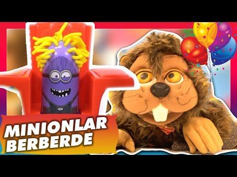 Play doh - Play-Doh Minions & Kunduz Kuki ile Sürprizli Balon Patlatma