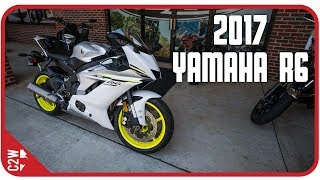 1. 2017 Yamaha R6 | First Ride
