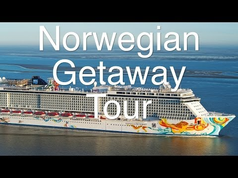 Norwegian Getaway - Tour und Rundgang