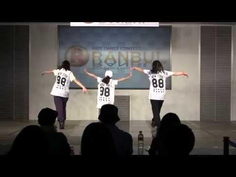 上宮中学校ストリートダンス部 Funky Crazy. (2014年度RANBUL)