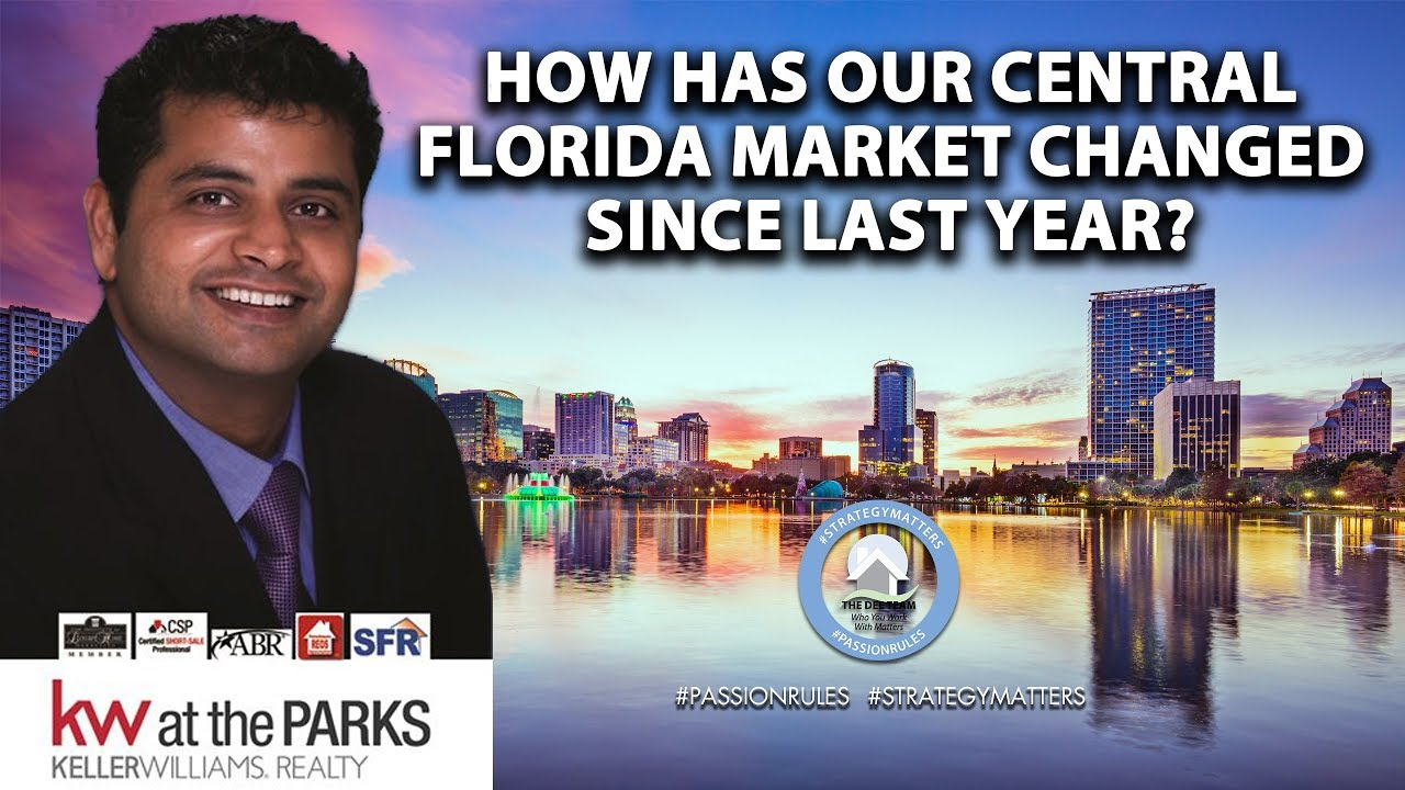 How Has Our Central Florida Market Changed Since Last Year?