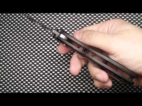 Відеоогляд ножа  Ganzo G701