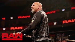 Goldberg returns to battle Dolph Ziggler at SummerSlam: Raw, Aug. 5, 2019