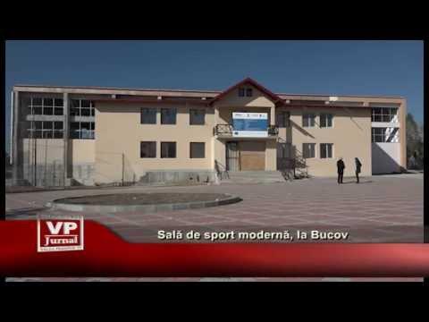 Sala de sport moderna, la Bucov
