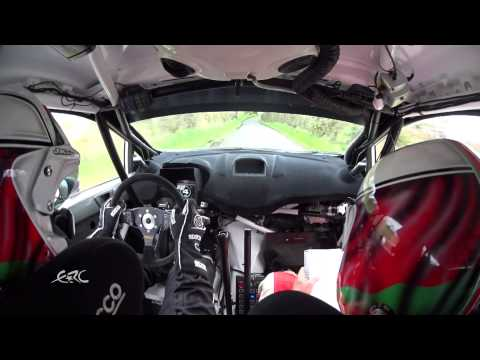 Circuit of Ireland Rally 2015 - Lukyanuk OBC Qualifying