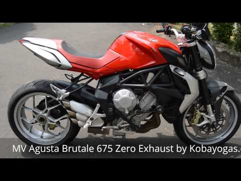 MV Agusta Brutale 675 Zero Exhaust review by Kobayogas.com