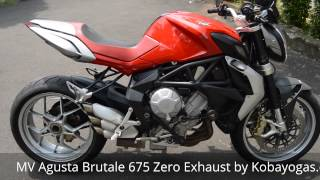 6. MV Agusta Brutale 675 Zero Exhaust review by Kobayogas.com