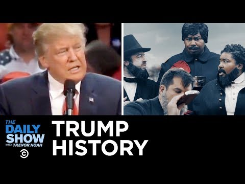 Drunk History: Trump Edition | The Daily Show