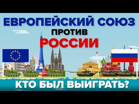 Европейский союз (ЕС) против России - Кто выиграет - Сравнение армии / армии - DomaVideo.Ru