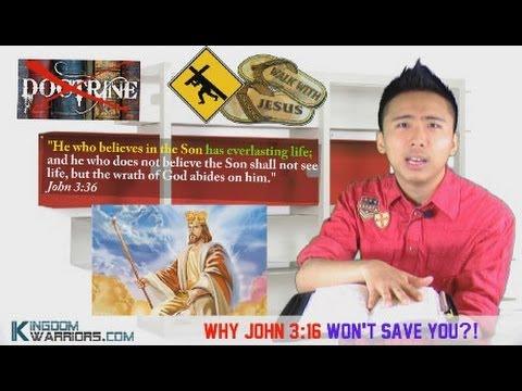 Why John 3:16 Won't Save You?!
