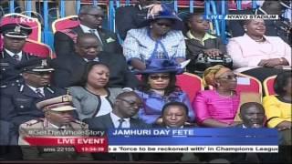President Uhuru Kenyatta's Full Speech During 2015 Jamhuri Day Celebrations