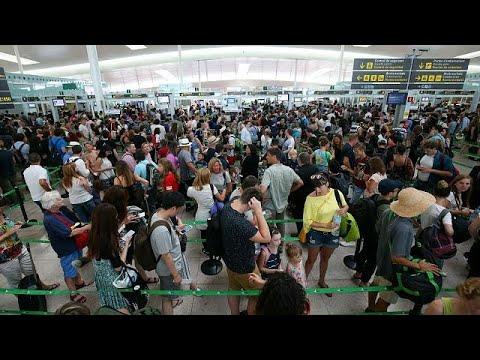 Μεγάλες καθυστερήσεις στα ευρωπαϊκά αεροδρόμια