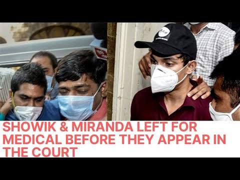 Showik & Miranda On the way to J J Hospital for a Medical Check up Before They Appear in The Court