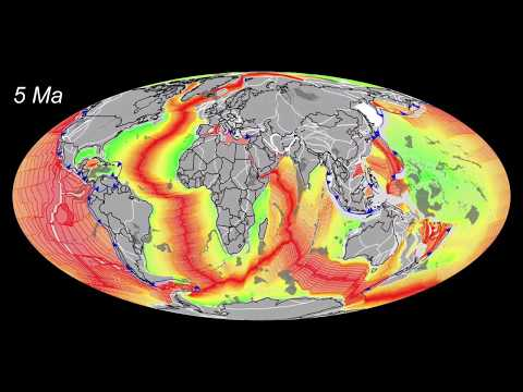 Plate Tectonics  400 Ma to Today  by CR Scotese