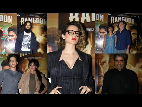 Movie Screening | Rangoon Relesing 24th February