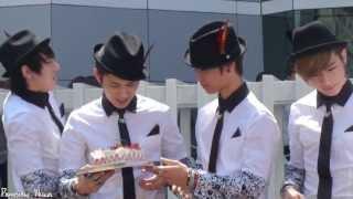 Video [Fancam] C-Clown 130421 - Kangjun's birthday Mini Fanmeet (Inkigayo) MP3, 3GP, MP4, WEBM, AVI, FLV Desember 2017