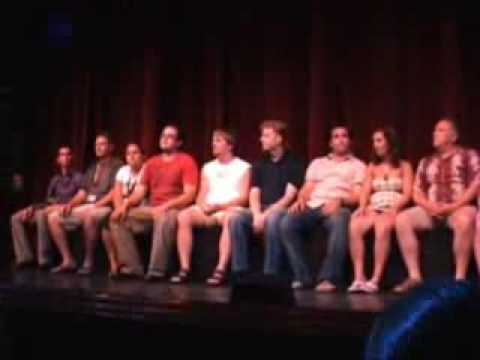 Ricky Kalmon (Hypnotist) Disney Cruise August 2008 Part 2