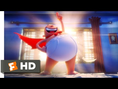 Captain Underpants: The First Epic Movie (2017) - The Real-Life Hero Scene (5/10) | Movieclips