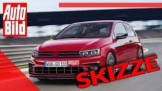 Rallye Golf 7 (2019): Skizze - Sport - Nostalgie by Auto Bild