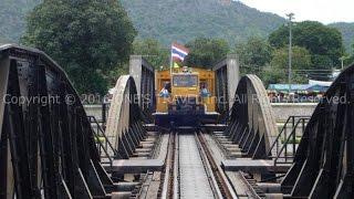 タイの遺跡・クウェー川鉄橋