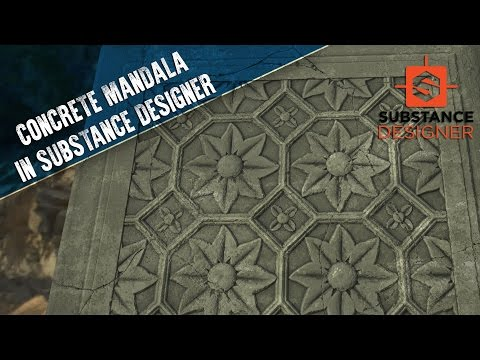 Creating a Concrete Mandala in Substance Designer
