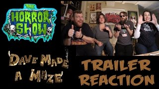 "Nonton ""Dave Made a Maze"" 2017 Trailer Reaction - The Horror Show Film Subtitle Indonesia Streaming Movie Download"