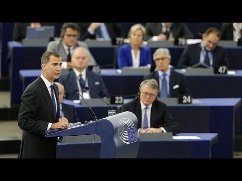 Στρασβούργο: Ο Βασιλιάς της Ισπανίας Φίλιππος ο έκτος στο Ευρωκοινοβούλιο