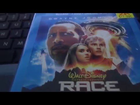 Race To Witch To Mountain 2009 Remake Kinda Blu Ray Unboxing