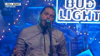 Download Lagu Post Malone - I Fall Apart (Live From The Bud Light x Post Malone Dive Bar Tour Nashville) Mp3