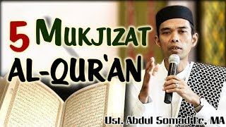Video 5 Mukjizat Al-Quran - Ust Abdul Somad Lc, MA MP3, 3GP, MP4, WEBM, AVI, FLV Juni 2018