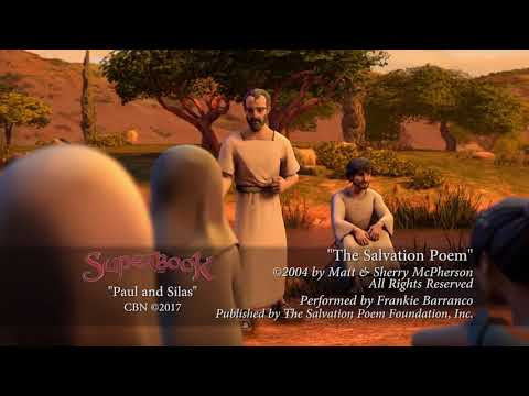 Superbook - Paul And Silas - Salvation Poem