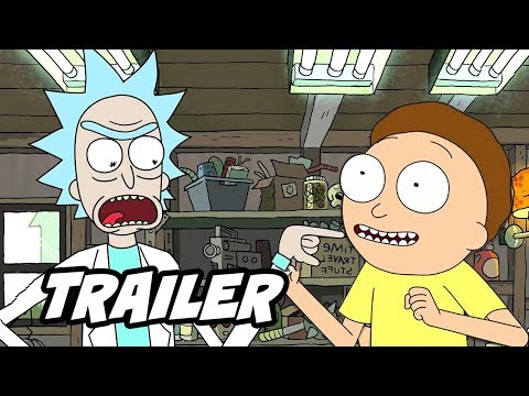 Rick and Morty Season 4 Trailer - Season 4 Episode Easter Eggs and Jokes