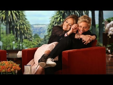 Jennifer Lopez Shares Her Germs with Ellen
