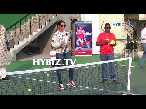Sania Mirza Grassroot Level Tennis Academy Launch
