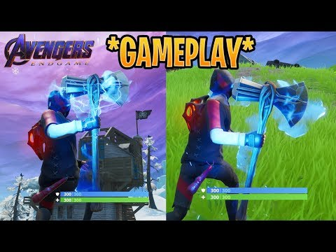 *NEW* FORTNITE AVENGERS ENDGAME SQUADS GAMEPLAY! (THANOS & INFINITY STONES)