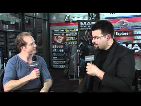 Mass Effect 3 Launch: Raphael Sbarge Interview Video