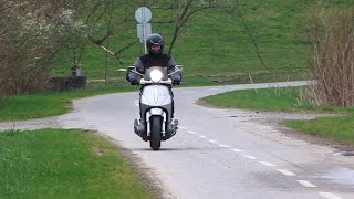 4. Piaggio Beverly 500 0-100km/h acceleration