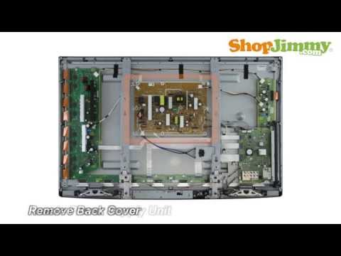 Panasonic TC-P50 TC-P42 Board Power Supply Unit (PSU) Boards Replacement Guide for Plasma TV Repair