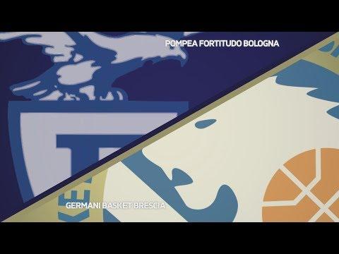 Fortitudo, gli highlights del match contro Brescia