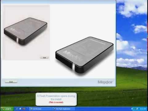 OT4 Mini Software Installation on a Windows XP System.