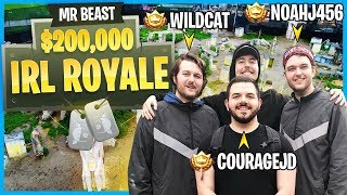 I Played in MrBeast's $200,000 YouTuber Airsoft Battle Royale!