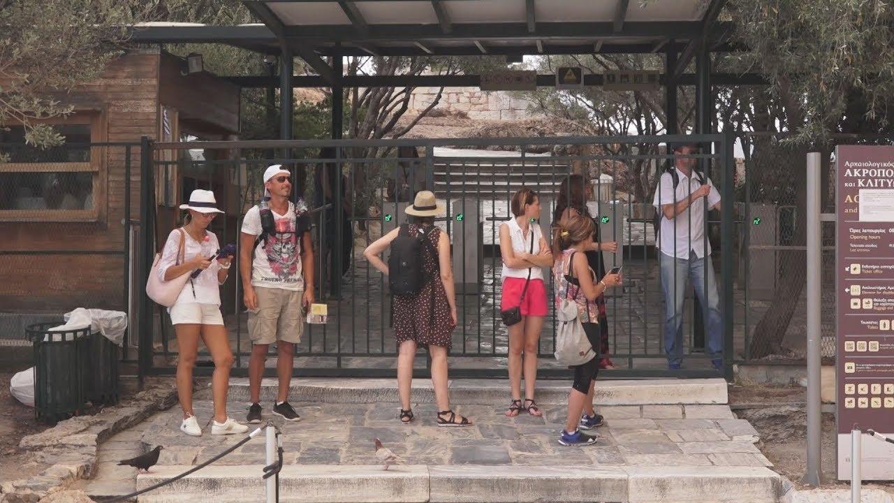 Έκλεισε  ο αρχαιολογικός χώρος της Ακρόπολης λόγω Καύσωνα